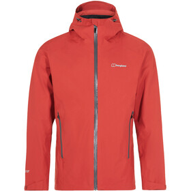 Berghaus Ridgemaster Vented Shell Jacket Men Ketchup